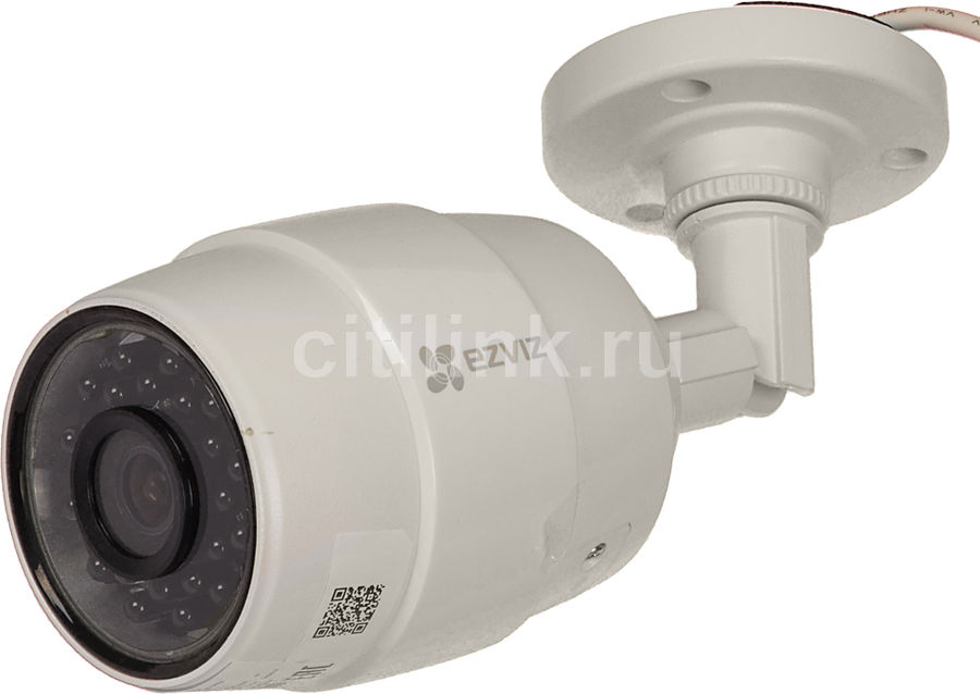 Видеокамера IP EZVIZ CS-CV216-A0-31WFR, 2.8 мм, белый [c3c (wi-fi)] камера ip ezviz c3s cmos 1 2 7 1920 x 1080 h 264 wi fi rj 45 lan poe белый черный cs cv210 a0 52wfr