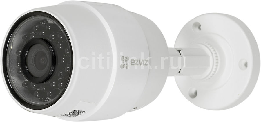Видеокамера IP EZVIZ CS-CV216-A0-31EFR, 2.8 мм, белый [c3c (poe)] камера ip ezviz c3s cmos 1 2 7 1920 x 1080 h 264 wi fi rj 45 lan poe белый черный cs cv210 a0 52wfr
