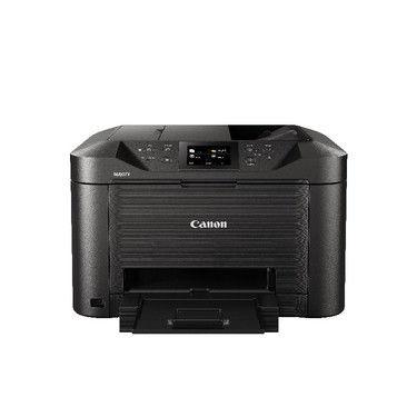 МФУ струйный CANON Maxify MB5140, A4, цветной, струйный, черный [0960c007]