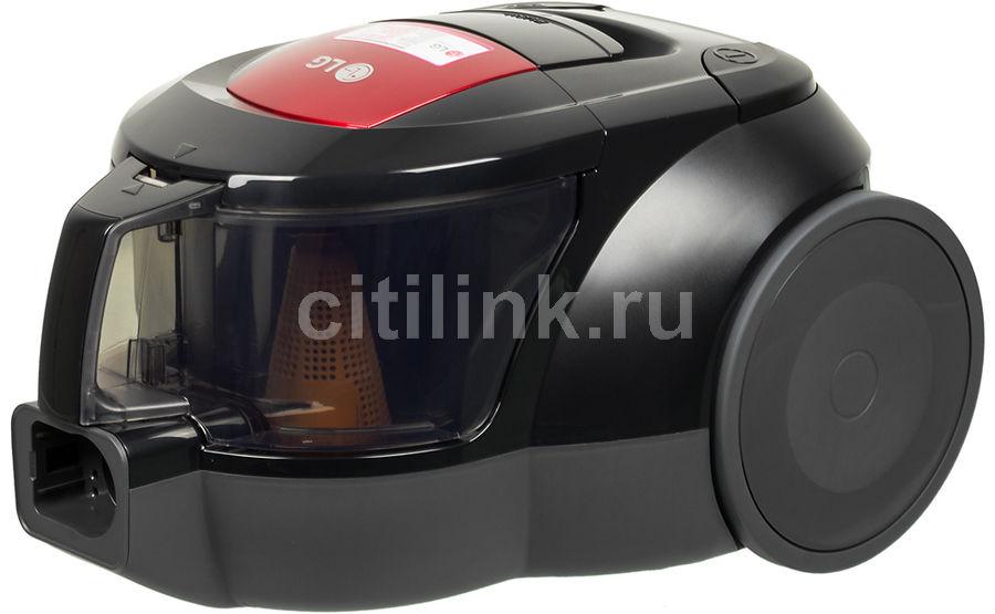 Пылесос LG VK69661N, 1600Вт, красный