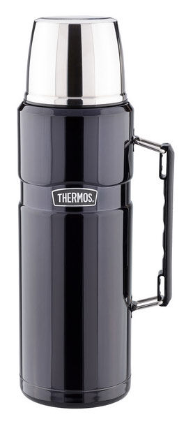 Термос THERMOS SK 2010 Matte Black, 1.2л, черный