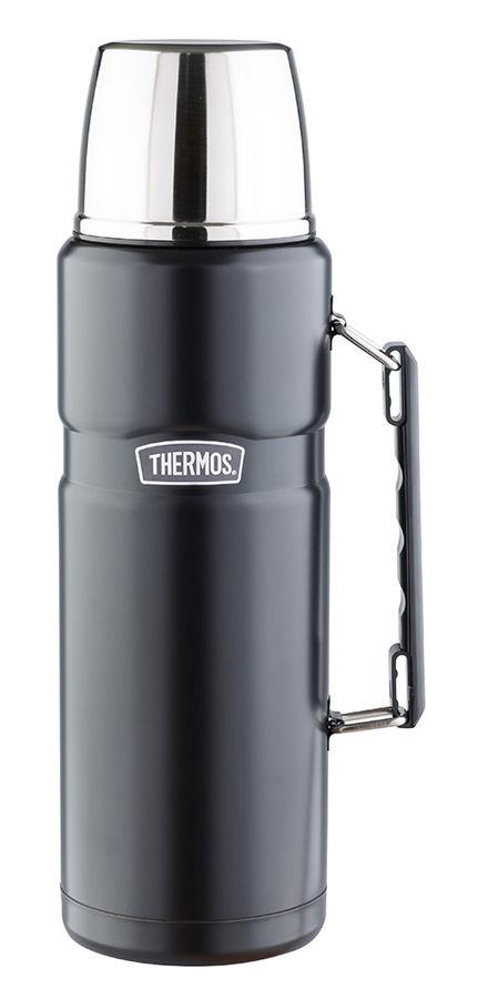 Термос THERMOS SK2020 Matte Black, 2л, черный