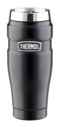 Термокружка THERMOS SK1005 Matte Black, 0.47л, черный