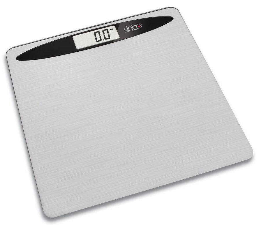 Весы SINBO SBS 4419, до 150кг, цвет: серебристый