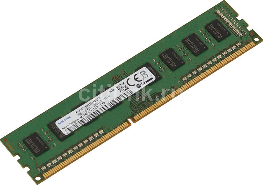 Модуль памяти SAMSUNG M378B5773SB0 DDR3 -  2Гб 1600, DIMM,  OEM