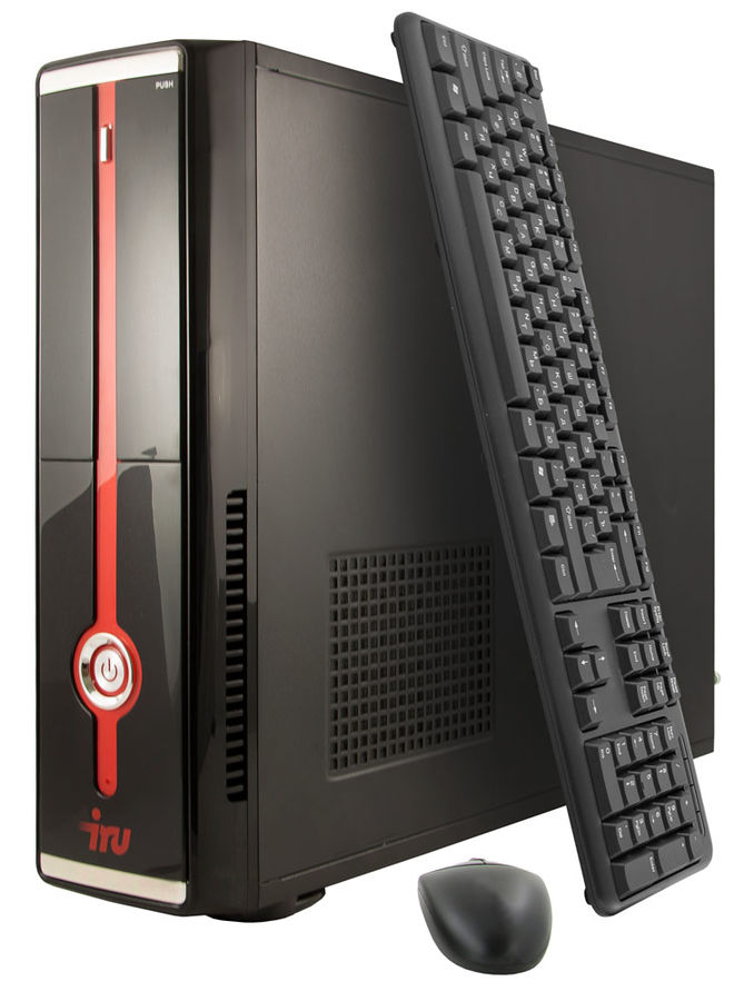 Компьютер  IRU Office 511,  Intel  Core i5  4460,  DDR3 4Гб, 1Тб,  Intel HD Graphics 4600,  Free DOS,  черный [388063]
