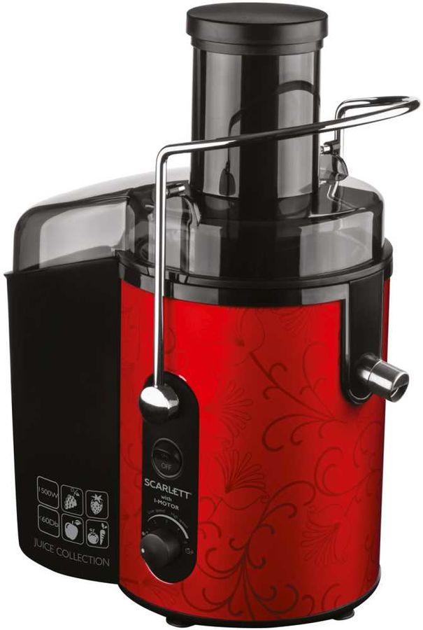 Соковыжималка SCARLETT SC-JE50S26,  центробежная,  красный и черный [sc - je50s26]