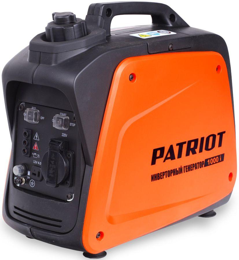 Бензиновый генератор PATRIOT 1000i,  220 В,  0.9кВт [474101025]