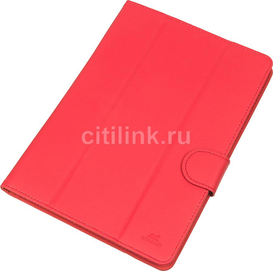 Чехол для планшета RIVA 3137, красный, для планшетов 10.1