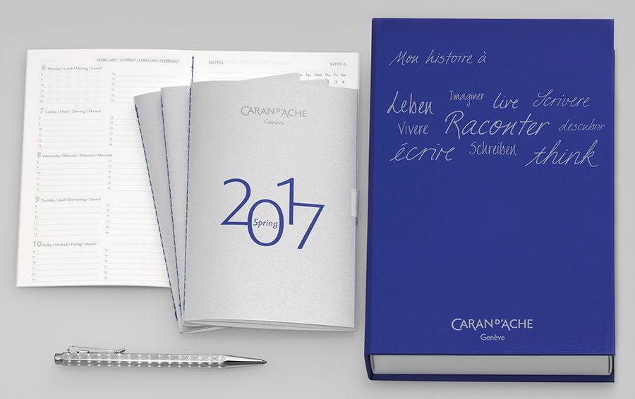 Ручка шариковая Carandache Ecridor Infini My History (CC0890.016) M черные чернила подар.кор.