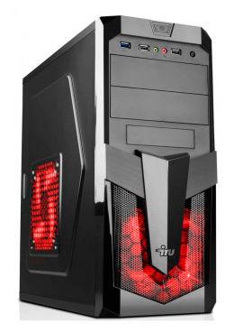 Компьютер  IRU Home 321,  AMD  A8  7600,  DDR3 4Гб, 500Гб,  AMD Radeon R5 230 - 2048 Мб,  DVD-RW,  Free DOS,  черный [388442]