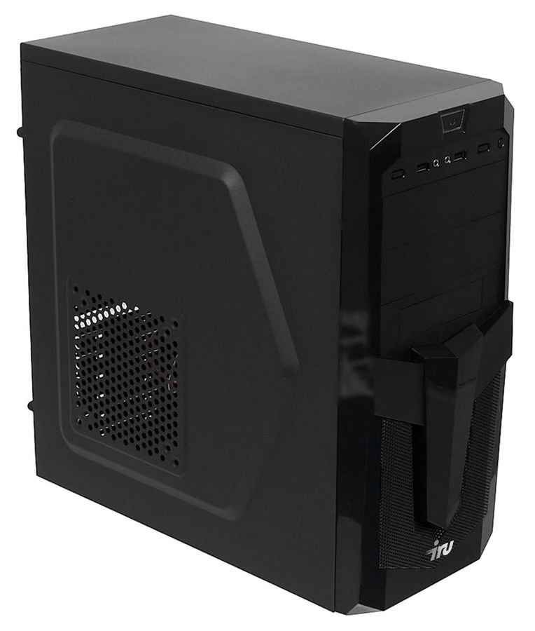 Компьютер  IRU Home 511,  Intel  Core i5  4460,  DDR3 4Гб, 1Тб,  nVIDIA GeForce GT730 - 2048 Мб,  DVD-RW,  Free DOS,  черный [388451]