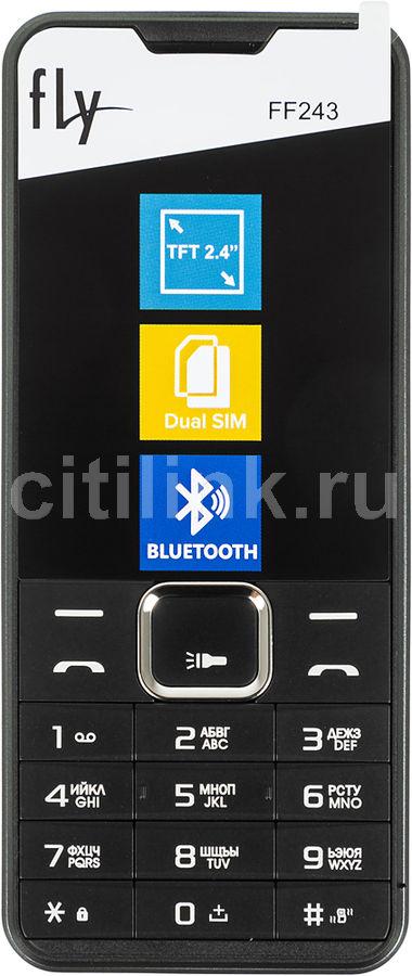 Мобильный телефон FLY FF243,  черный