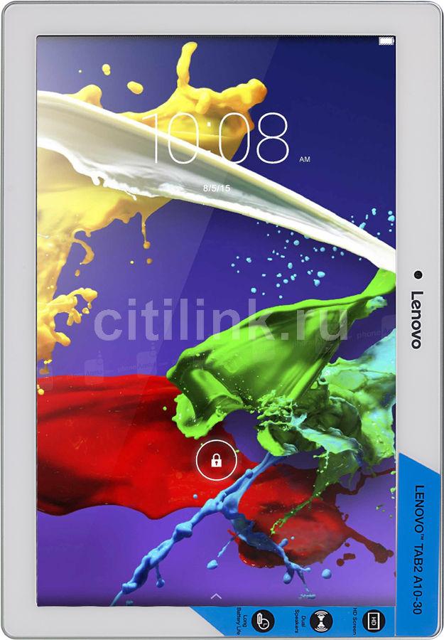 Планшет LENOVO TB2-X30F,  2GB, 16GB, Android 5.1 белый [za0c0100ru]