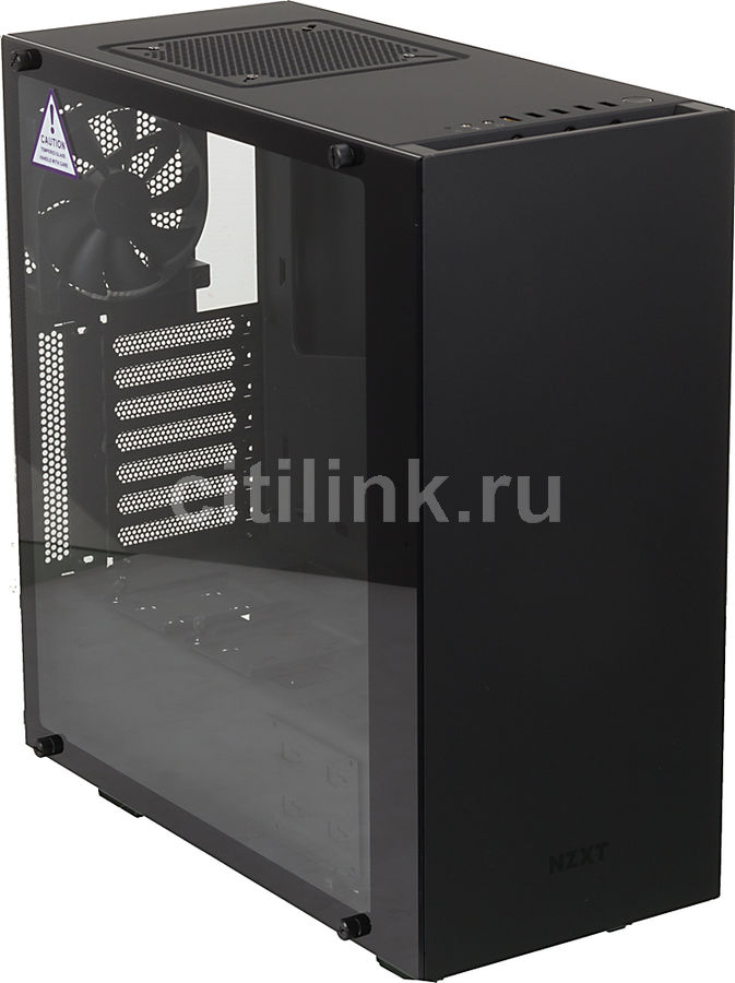 Корпус ATX NZXT S340 ELITE CA-S340W-B3, Midi-Tower, без БП,  черный