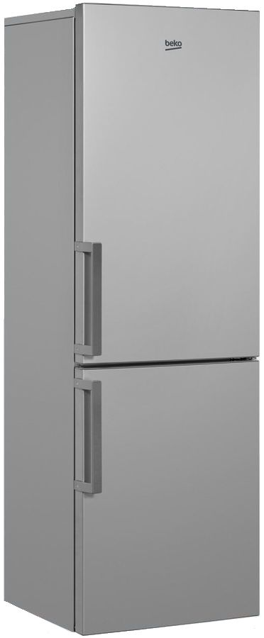 Холодильник BEKO RCNK321K21S,  двухкамерный,  серебристый
