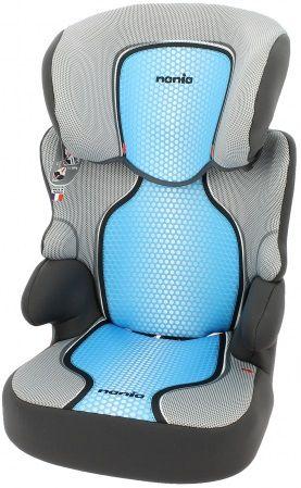 Автокресло детское NANIA Befix SP FST (pop blue), 2/3, синий/черный [744608, 746608]