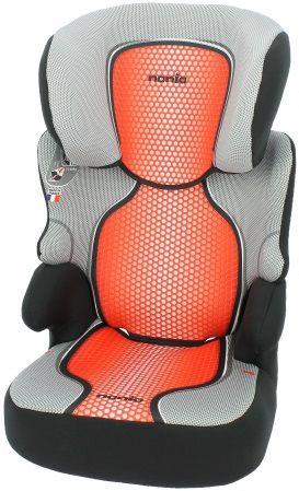Автокресло детское NANIA Befix SP FST (pop red), 2/3, красный/черный [746607]