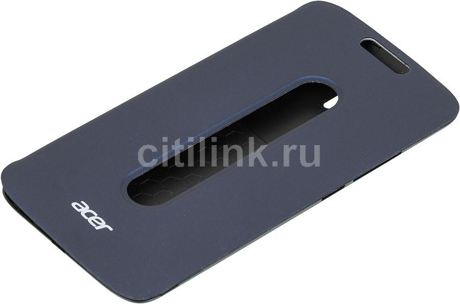 Чехол (флип-кейс) ACER Flip cover, для Acer Z628, синий [hc.70211.08a]