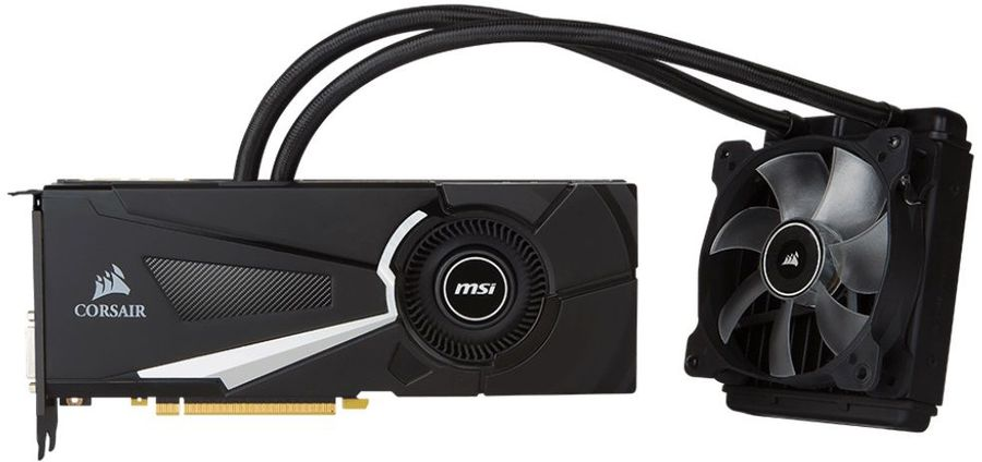 Видеокарта MSI GeForce GTX 1080,  GTX 1080 SEA HAWK X,  8Гб, GDDR5X, OC,  Ret