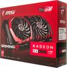 Видеокарта MSI Radeon RX 480,  RX 480 GAMING X 4G,  4Гб, GDDR5, OC,  Ret вид 7