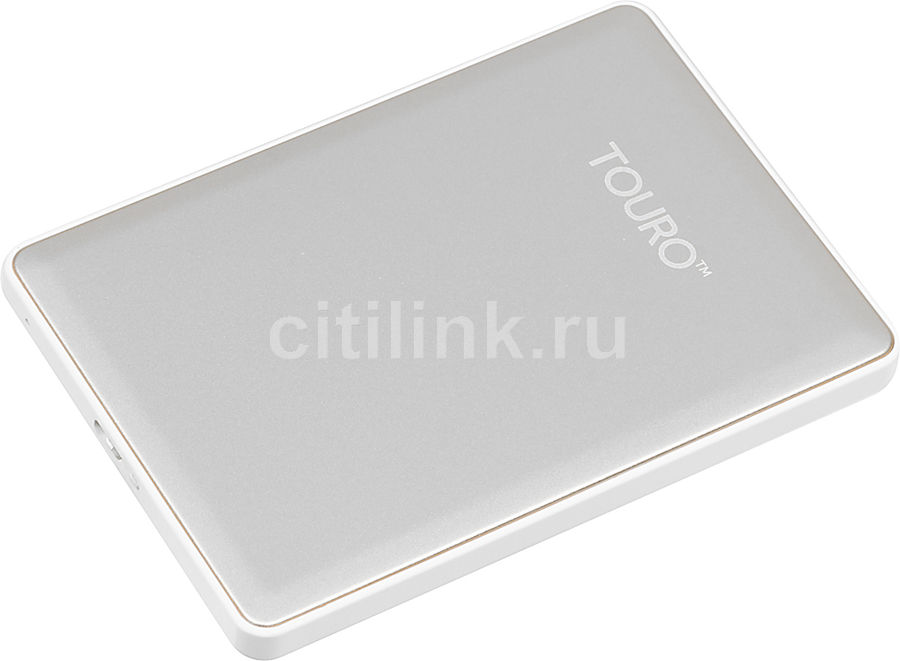 Внешний жесткий диск HGST Touro S HTOSEC5001BDB, 500Гб, серебристый [0s03734]