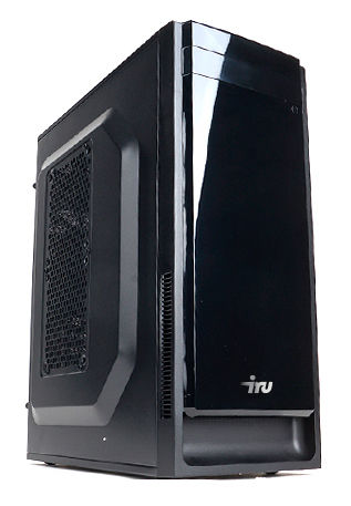 Компьютер  IRU City 519,  Intel  Core i5  4460,  DDR3 8Гб, 1Тб,  nVIDIA GeForce GTX 970 - 4096 Мб,  DVD-RW,  Free DOS,  черный [389102]