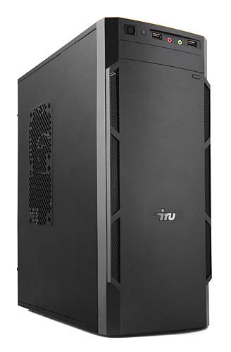 Компьютер  IRU City 519,  Intel  Core i5  6400,  DDR4 8Гб, 1Тб,  nVIDIA GeForce GTX 1060 - 6144 Мб,  DVD-RW,  Free DOS,  черный [389119]