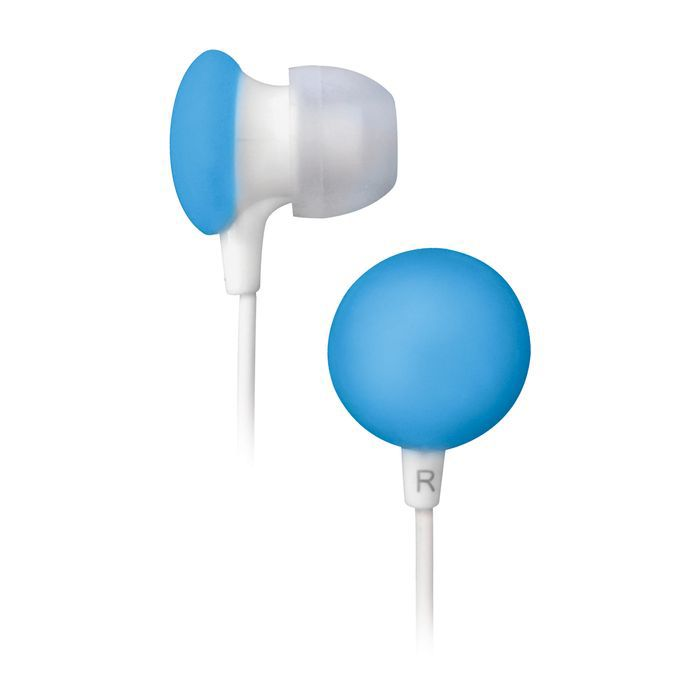 Наушники BBK EP-1170S, вкладыши,  белый/голубой, проводные