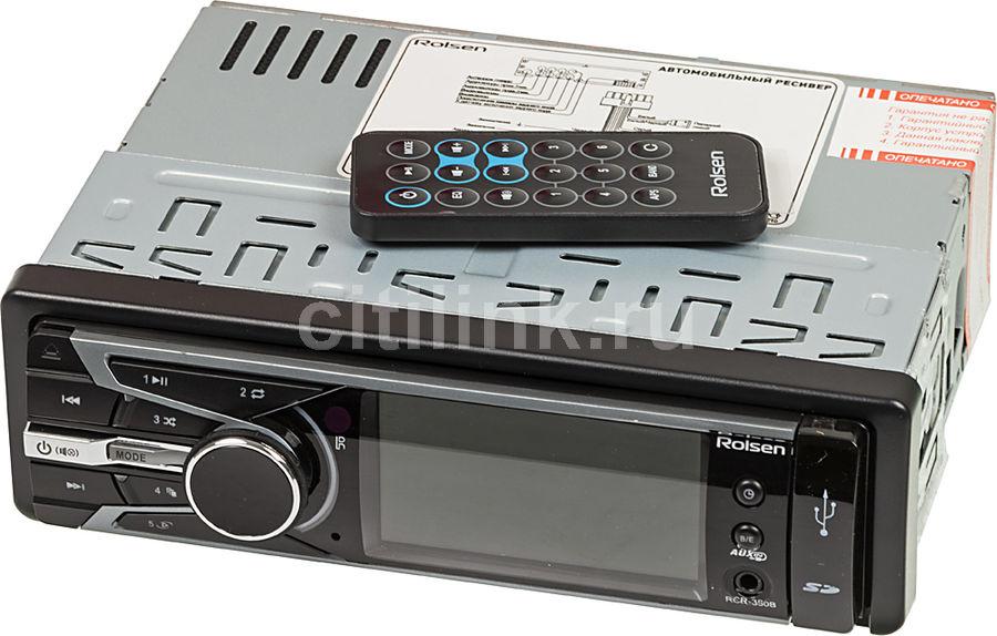 Автомагнитола ROLSEN RCR-350B,  USB,  SD/MMC