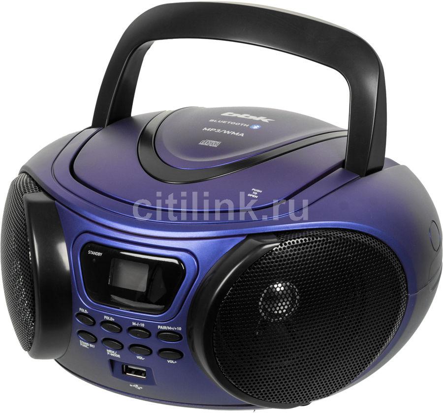 Аудиомагнитола BBK BX170BT,  синий