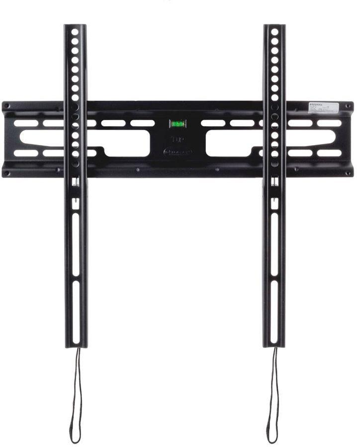 """Кронштейн для телевизора Kromax FLAT-3 черный 22""""-65"""" макс.55кг настенный фиксированный"""