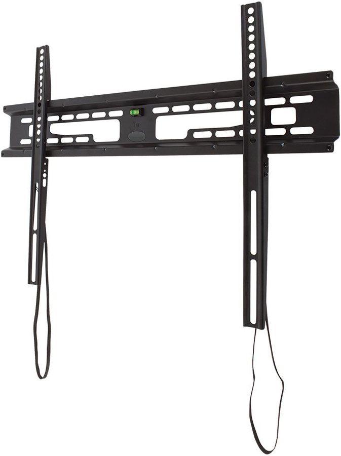 """Кронштейн для телевизора Kromax FLAT-1 черный 32""""-90"""" макс.65кг настенный фиксированный"""