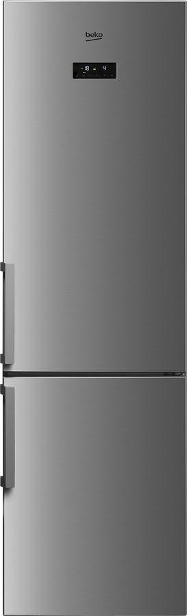 Холодильник BEKO RCNK356E21X,  двухкамерный, нержавеющая сталь