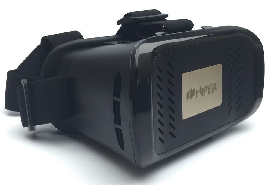 Очки виртуальной реальности HIPER VR VRX,  черный
