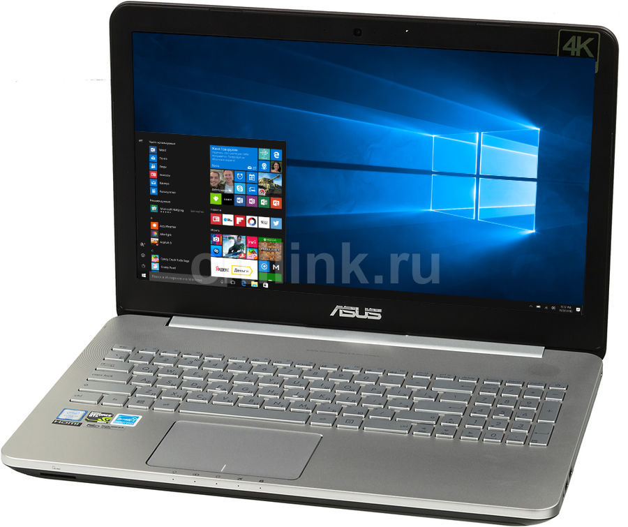 Ноутбук ASUS N552VW-FI191T, 15.6, Intel Core i7 6700HQ, 2.6ГГц, 8Гб, 1000Гб, nVidia GeForce GTX 960M - 2048 Мб, Blu-Ray, Windows 10, серый [90nb0an1-m02340]Ноутбуки<br>экран: 15.6;  разрешение экрана: 2560х1440; процессор: Intel Core i7 6700HQ; частота: 2.6 ГГц (3.5 ГГц, в режиме Turbo); память: 8192 Мб, DDR4; HDD: 1000 Гб, 5400 об/мин; nVidia GeForce GTX 960M - 2048 Мб; Blu-Ray; WiFi;  Bluetooth; HDMI; WEB-камера; Windows 10<br>