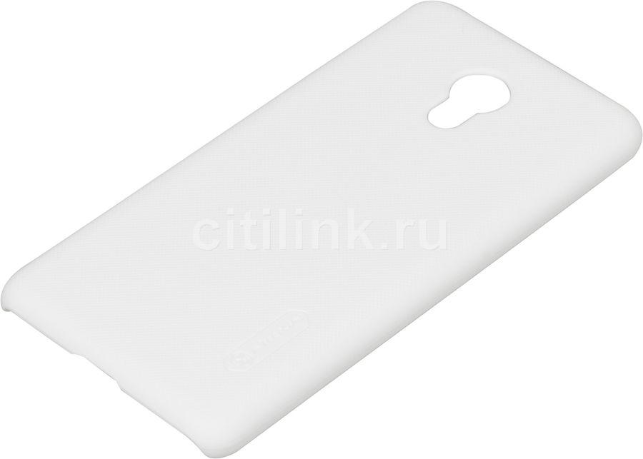 Чехол (клип-кейс)  BackCover, для Meizu M3s mini, белый [nlk-874004y0481]