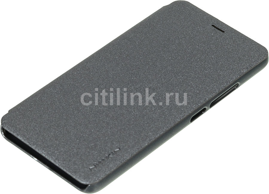 Чехол (клип-кейс)  FlipCover, для Meizu M3s mini, темно-серый [nlk-874004y0484]
