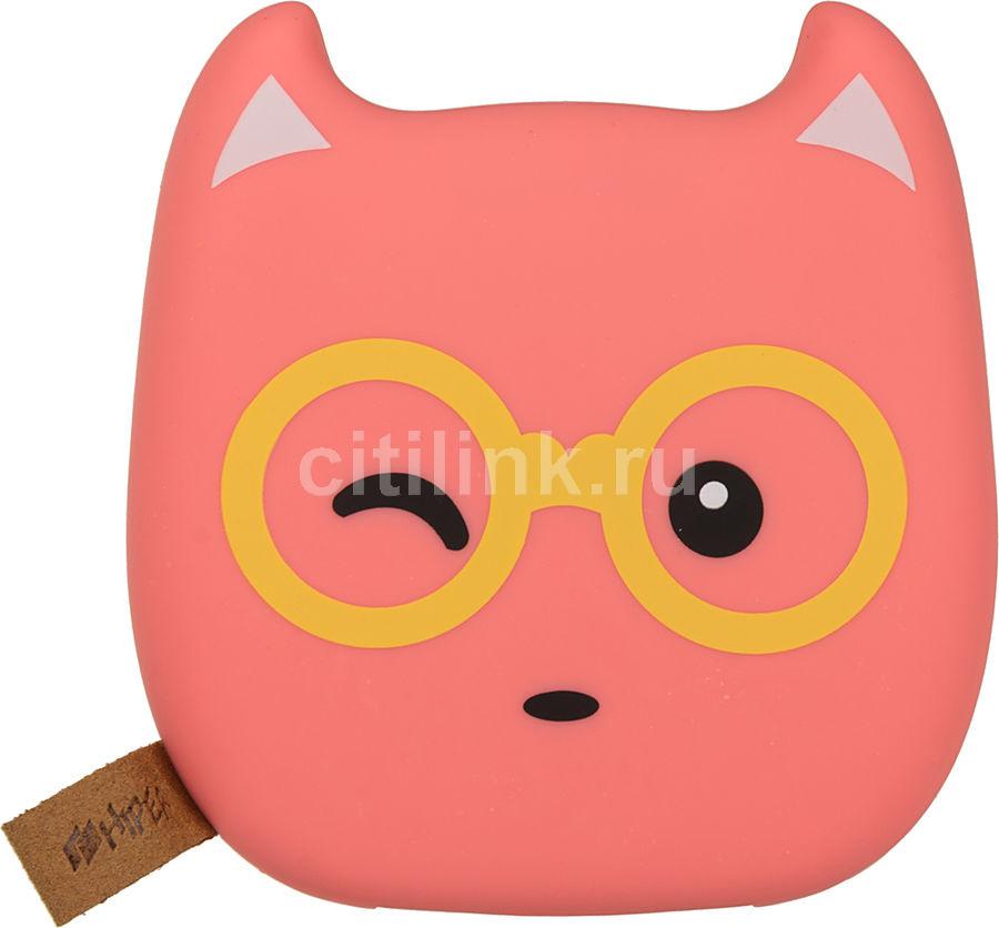 Внешний аккумулятор (Power Bank) HIPER Zoo Glasses/BubbleGum,  7500мAч,  рисунок