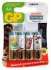 Батарея GP Super Alkaline 15A LR6 Pets,  4 шт. AA вид 1
