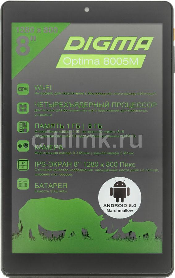 Планшет Digma Optima 8005M RK3126 4C/1Gb/8Gb 8