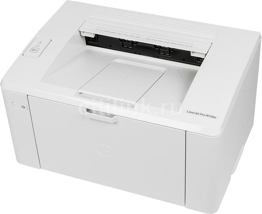 Принтер лазерный HP LaserJet Pro M104a RU лазерный, цвет:  белый [g3q36a]