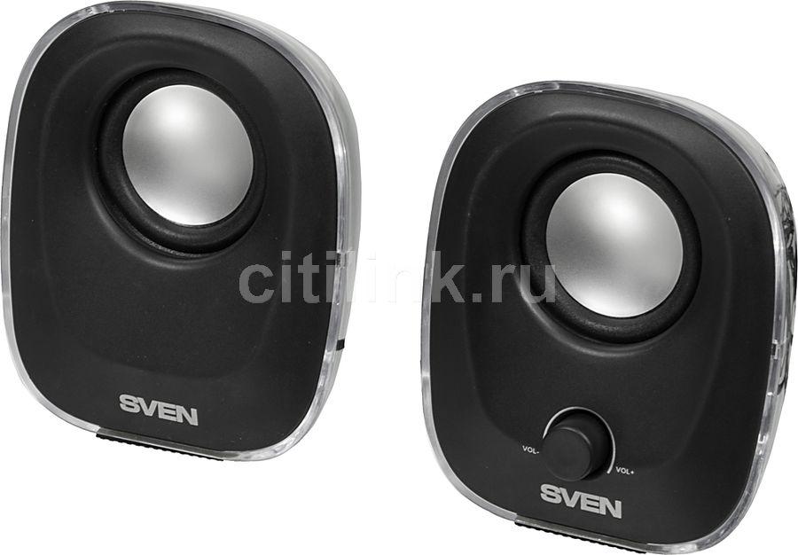 Колонки SVEN 330,  черный