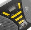 Аудиомагнитола BBK BX180U,  черный и желтый вид 8