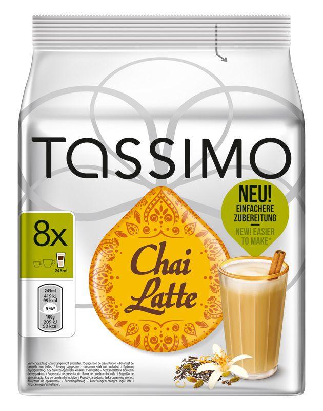 Капсулы BOSCH TASSIMO Чай Латте,  для кофемашин капсульного типа,  8 шт [4019527]