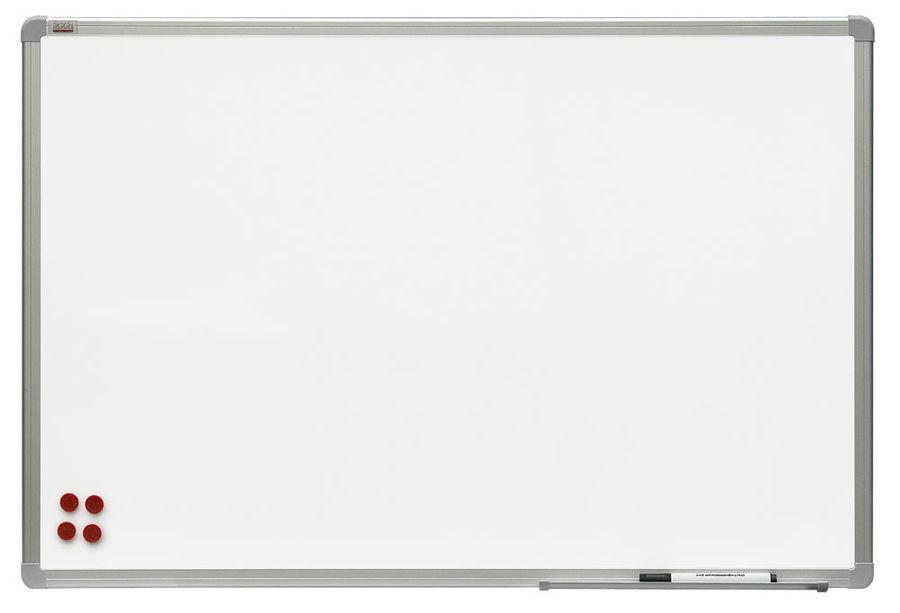 Демонстрационная доска 2X3 TSA1510 магнитно-маркерная лак 100x150см алюминиевая рама