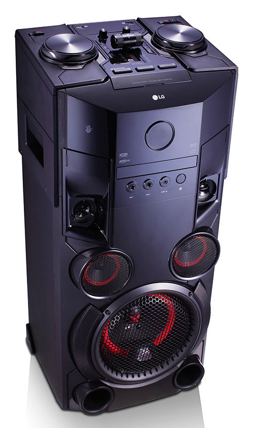 Купить Музыкальный центр LG OM6560, черный по выгодной цене в ... 89e89005a44