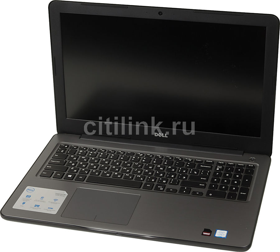 Ноутбук DELL Inspiron 5567, 15.6, Intel Core i5 7200U 2.5ГГц, 8Гб, 1000Гб, AMD Radeon R7 M445 - 4096 Мб, DVD-RW, Windows 10, черный [5567-0613] адаптер dell intel ethernet i350 1gb 4p 540 bbhf