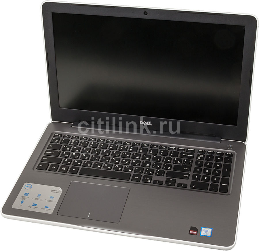 Ноутбук DELL Inspiron 5567, 15.6, 2.7ГГц, 8Гб, 1000Гб, AMD Radeon R7 M445 - 4096 Мб, DVD-RW, Windows 10, белый [5567-2662]Ноутбуки<br>экран: 15.6;  разрешение экрана: 1920х1080; частота: 2.7 ГГц (3.5 ГГц, в режиме Turbo); память: 8192 Мб, DDR4; HDD: 1000 Гб; AMD Radeon R7 M445 - 4096 Мб; DVD-RW; WiFi;  Bluetooth; HDMI; WEB-камера; Windows 10<br><br>Линейка: Inspiron