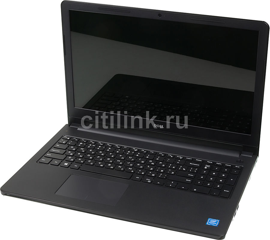 Ноутбук DELL Inspiron 3552, 15.6, Intel Pentium N3710 1.6ГГц, 4Гб, 500Гб, Intel HD Graphics 405, DVD-RW, Linux, 3552-0569, черный ноутбук dell vostro 3558 15 6 1366x768 intel pentium 3825u 500 gb 4gb intel hd graphics черный linux 3558 4483